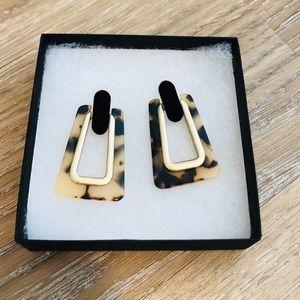 Women's Leopard print Earrings